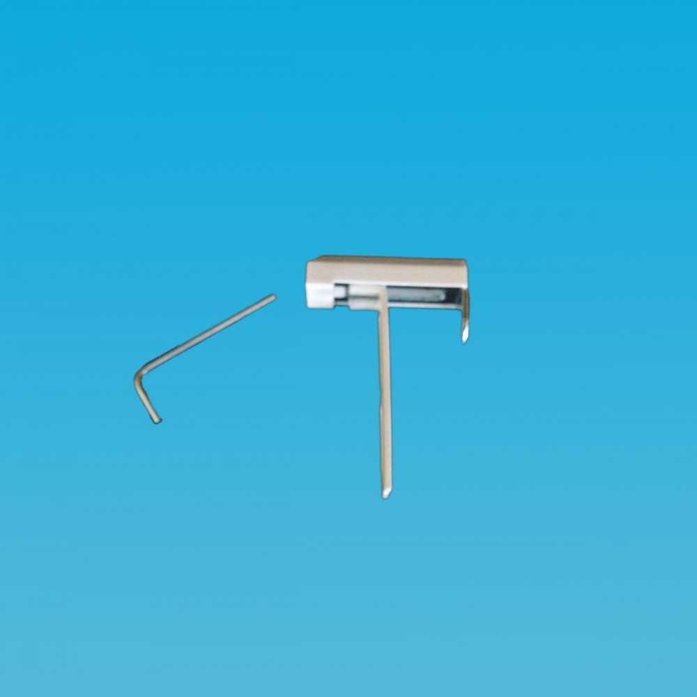 Fixation Haute pour bâti PVC pour Store Vénitien Aluminium