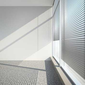 Store Vénitien Aluminium lames de 50 mm
