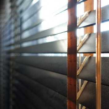 Store Vénitien Bois lames de 50mm